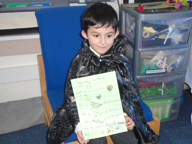 Kostis enjoyed sharing his story