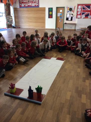 KS1 and EY friendship assembly