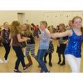 Girls dancing!