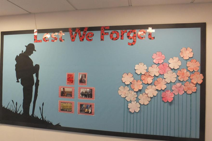 Remembrance noted by KS1