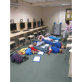 YrR: taking a nap during phonics!