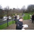 Recording location visitors data