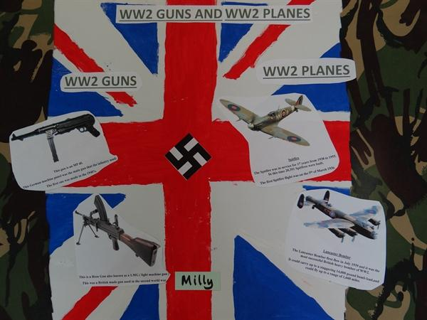 WWII Guns and Planes