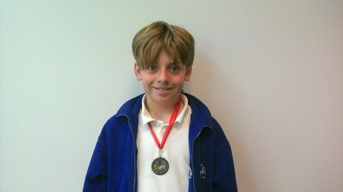 Charlie (4th in Karate!)