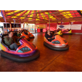 Bumper cars at summer fair