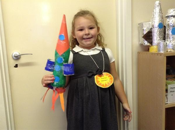 Our wonderful rockets!