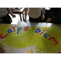 Images from Learn Latin morning
