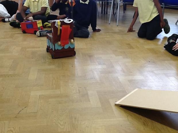 We measured how far and straight it travelled
