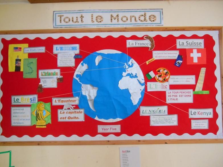 Looking at French spoken around the world.