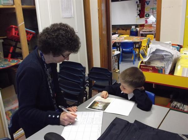 Mrs Shaw likes to hear us read
