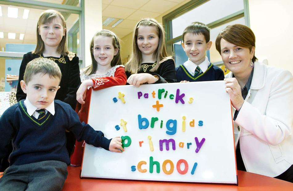 Education Minister meets some of our Children