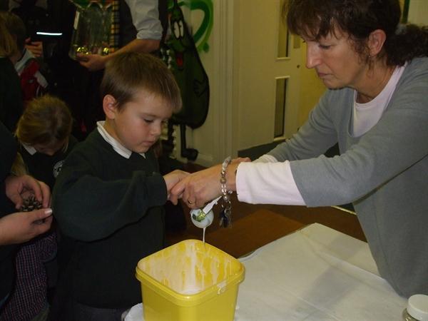 The Family Christmas Art workshop 2011