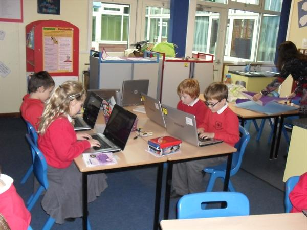 Y3 learning to touch type