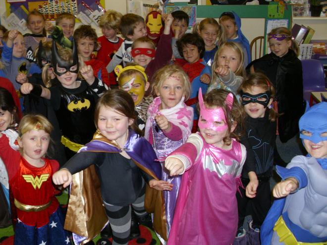 Purple class superheroes