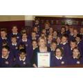 Sing Up Gold Award Presentation by Lisa O'Hare