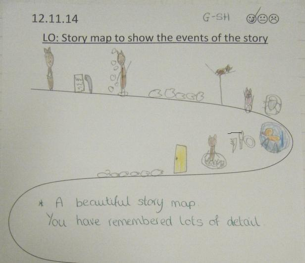 A brilliant example of a story map