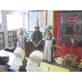 The school master visitied year 4.