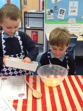 Baking for our Science Investigation!