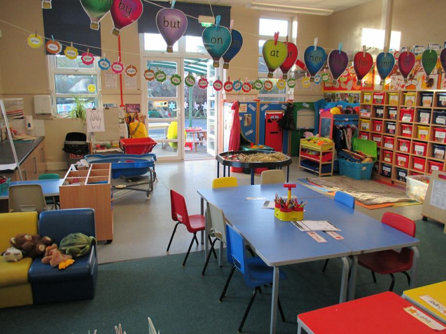 Oaks classroom