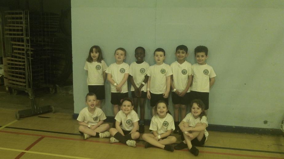 Our winning Year 1 Multi-skills team.