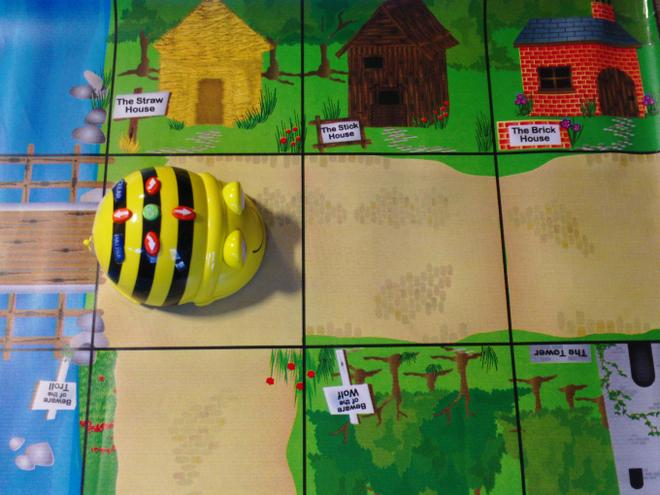 A programmable toy called BeeBot.