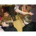 Fair Trade Steering Group visit Sainsburys