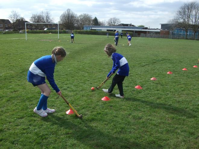 There are weekly PE and Games lessons
