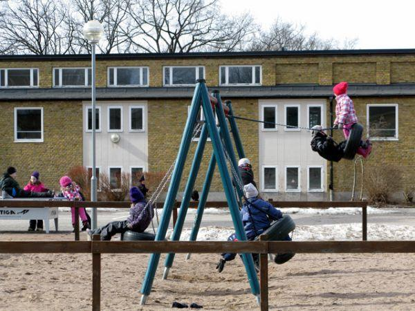 Ulriksberg School: playtime