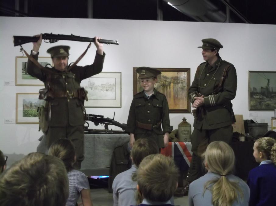 Learning about army punishments in WW1