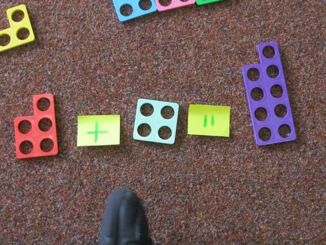 using Numicon to solve problems