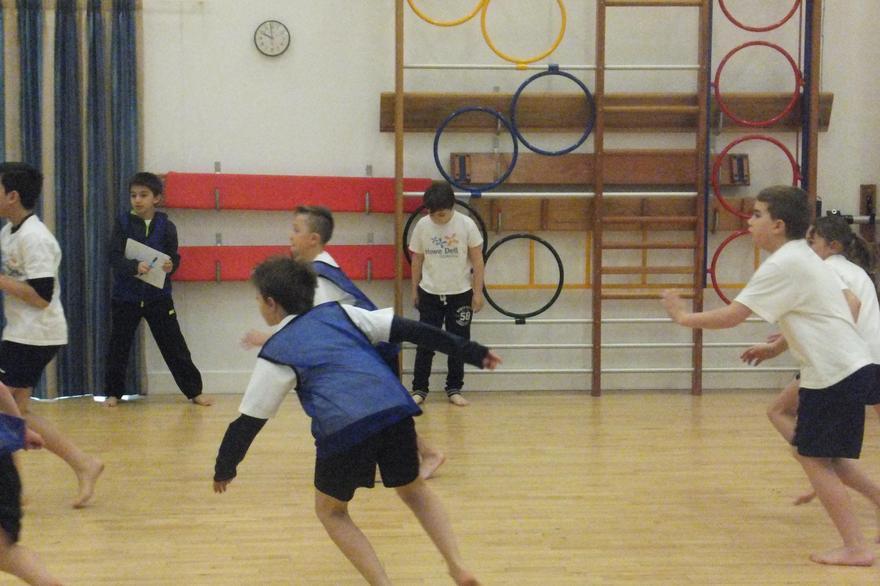 Y5 basket ball skills
