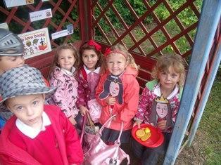 Poppy Class outdoors