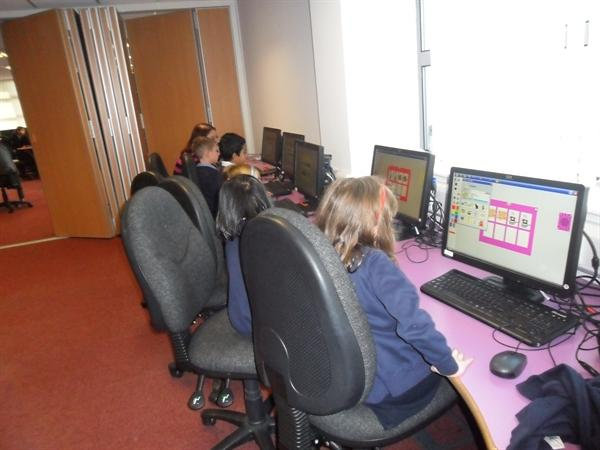Creating computer games at the Open Zone