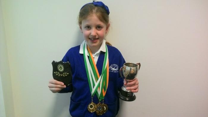 Molly-Mae (3NH) - Awards for Irish-dancing.