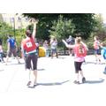 Netball at the summer fair