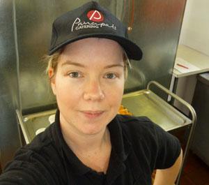 Katie Evans, Catering Assistant