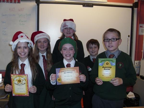 Y7G Winners of Christmas Past and Present!
