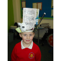 Showing off our fantastic hats