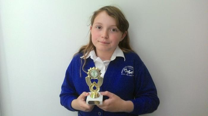 Grace - Best in the New Forest gymnastics club!