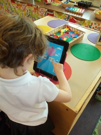 Exploring phonics on the ipad
