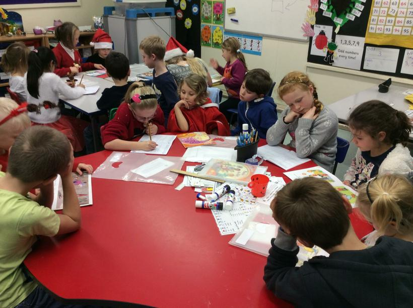 We enjoy it when Class 8 come and read with us!