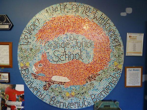 Our Welcome Mosaic
