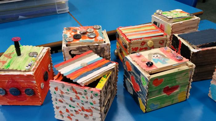 Year1 and Year 2's trinket boxes
