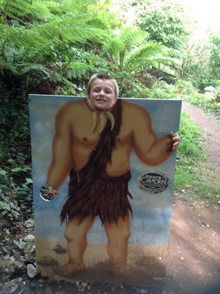 I'm a real caveman!