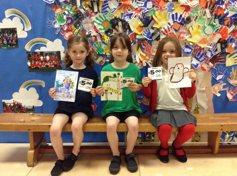 KS1 competition winners (book cover designs)