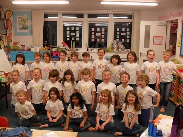 We designed our own 'Nativity Story' T-Shirts!