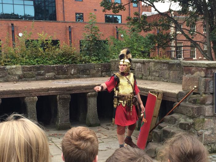 Finding out how the Romans used to keep clean