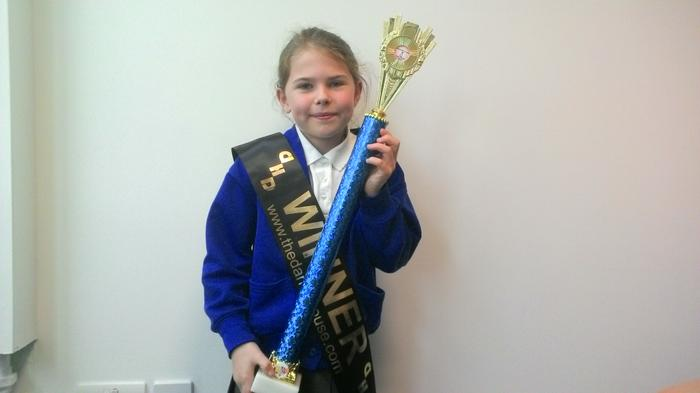 Niamh - solo freestyle dance - 1st out of 35!