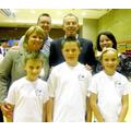 Children meet Tony Blair
