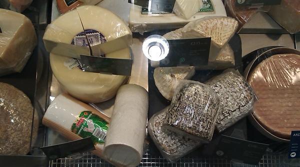 Sooo many cheeses!